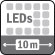 3 Ultra LED IR (Hasta 10m)